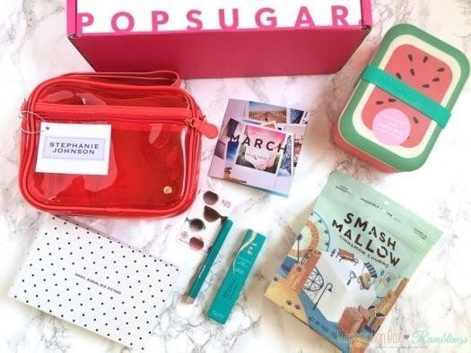 POPSUGAR Must Have Box March 2017 Giveaway! (CLOSED)