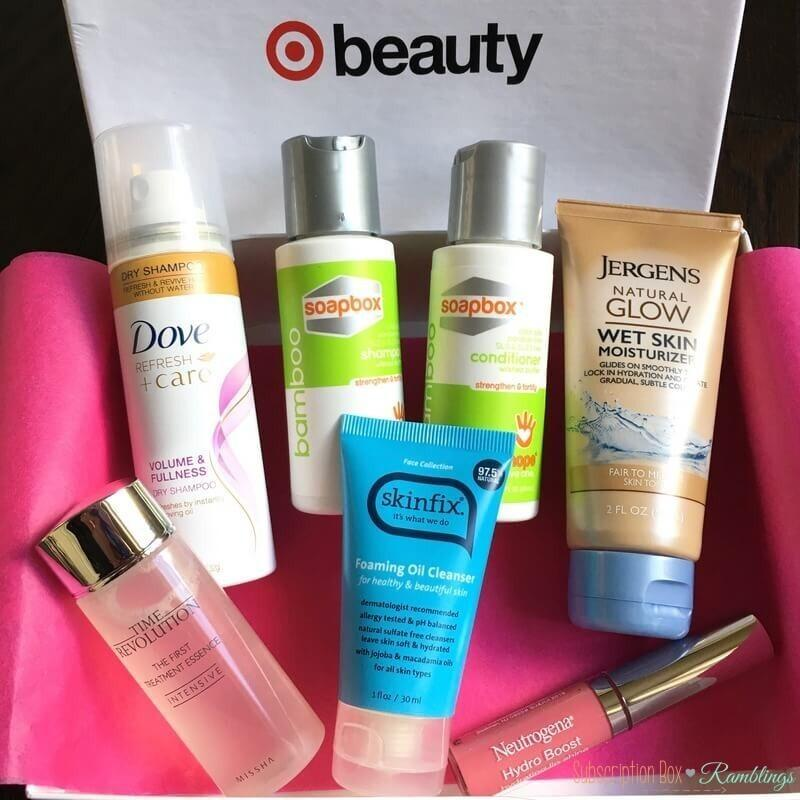Target Beauty Box Review – March 2017