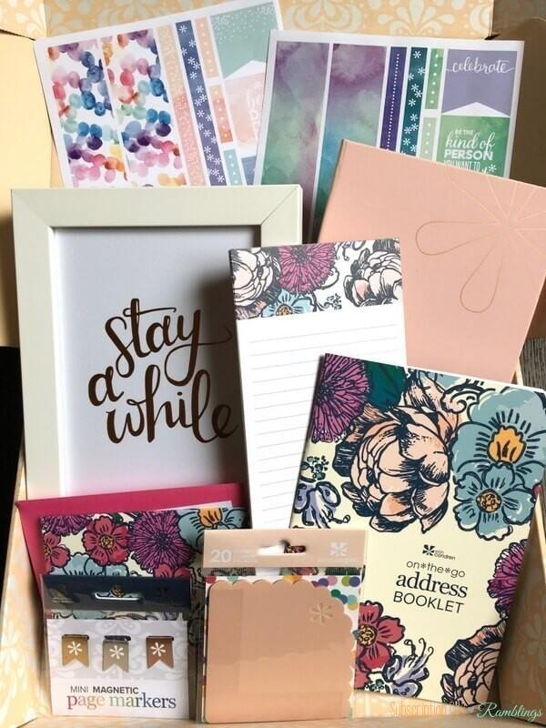 Erin Condren Seasonal Surprise Box (Spring 2017) Giveaway! (CLOSED)