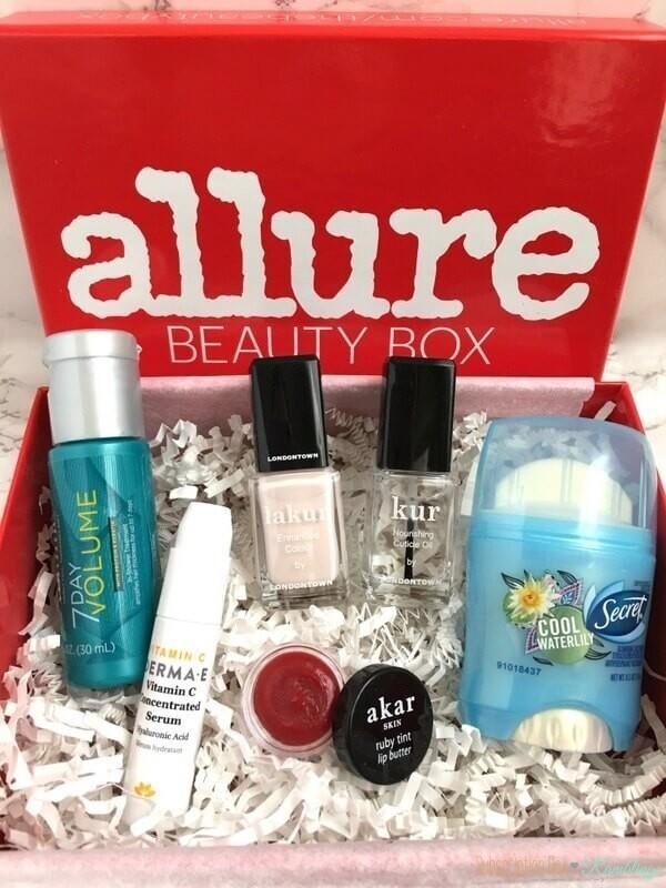 Allure Beauty Box Review – March 2017