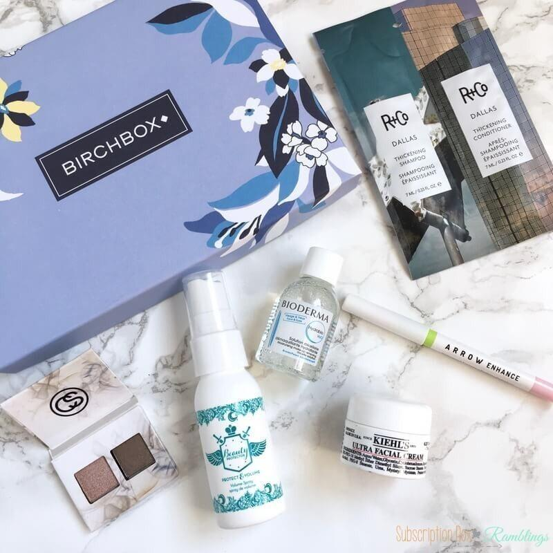 Birchbox Review + Coupon Code – March 2017