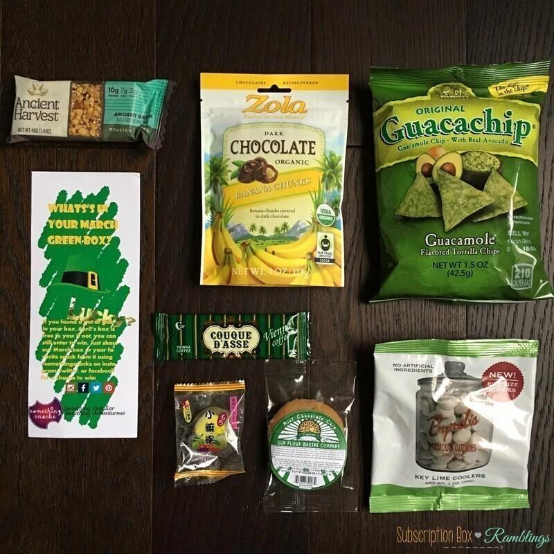 Something Snacks Review – March 2017