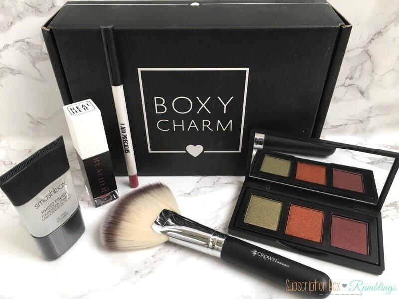 Boxycharm Review March 2017 Subscription Box Ramblings