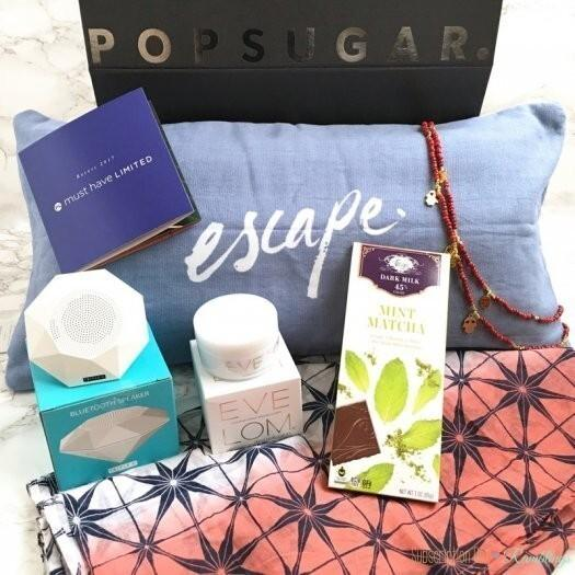 POPSUGAR Must Have 2017 Limited Edition Resort Box Review