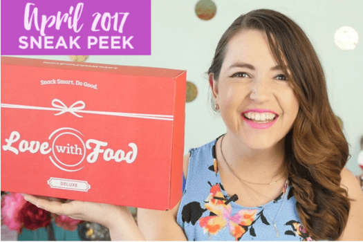 Love With Food April 2017 Spoilers + Coupon Code