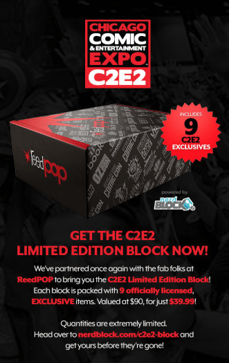 Nerd Block Limited Edition C2E2 Block – On Sale Now + Spoiler!!