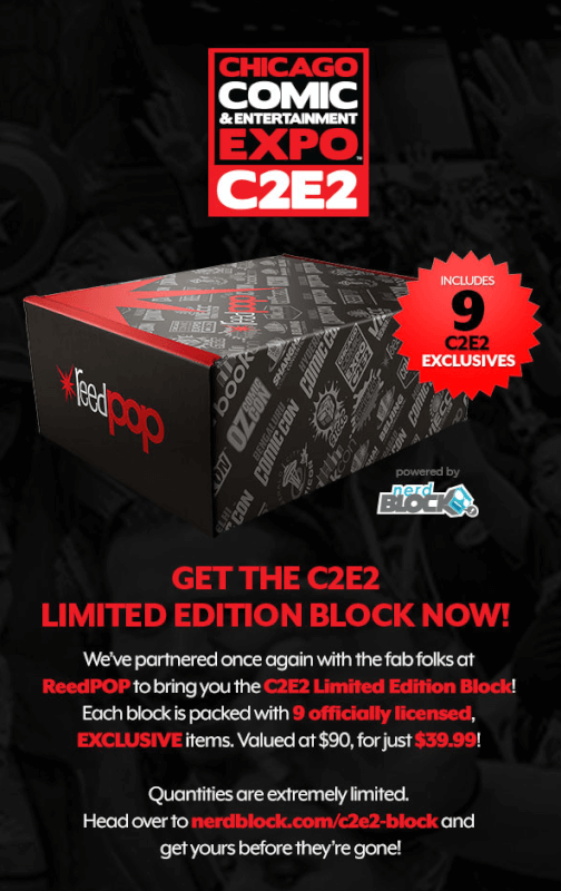 Nerd Block Limited Edition C2E2 Block – On Sale Now!