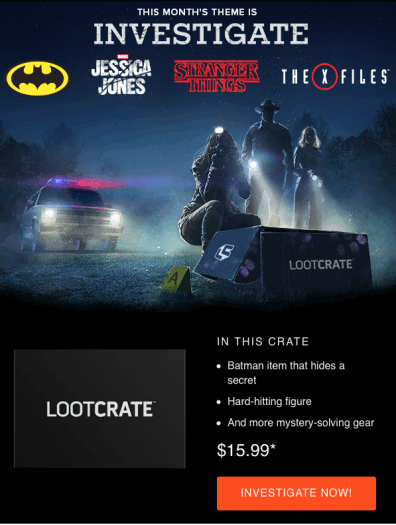 Loot Crate April 2017 Full Spoilers + 20% Off All Subscriptions!