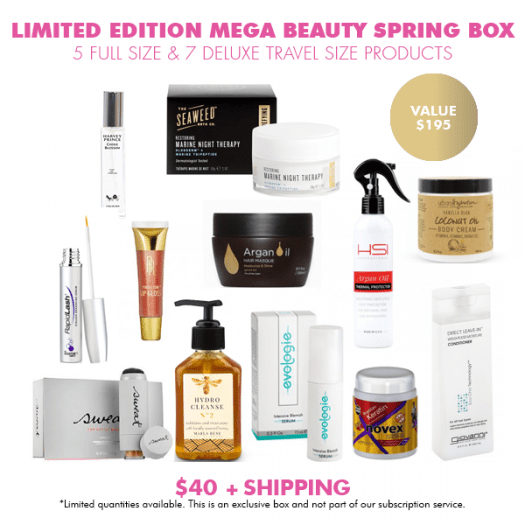COCOTIQUE Mega Beauty Spring Box Limited Edition Spring 2017 – On Sale Now