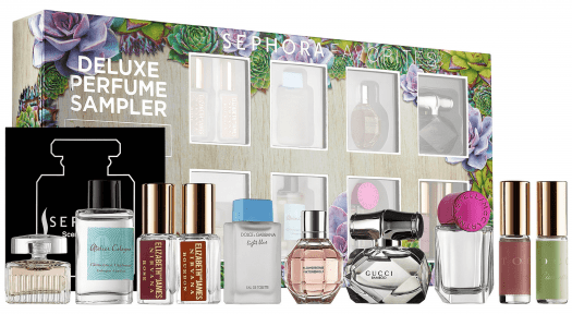 Sephora Favorites – All New Deluxe Perfume Sampler + Coupon Codes