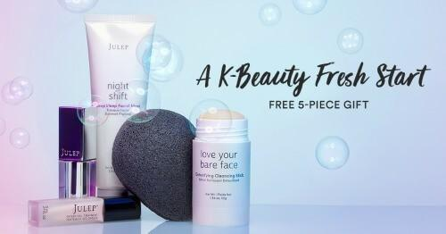Julep – Free K-Beauty Gift Set with New Subscriptions!