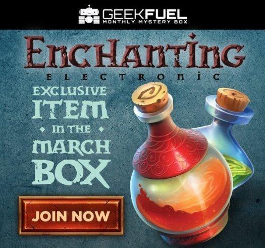 Geek Fuel March 2017 Spoiler #2