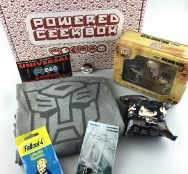 Powered Geek Box Review - March 2017