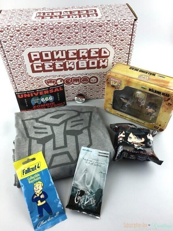 Powered Geek Box Review – March 2017
