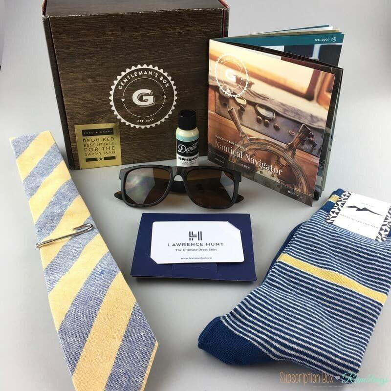 Gentleman S Box Review April 2017 Subscription Box