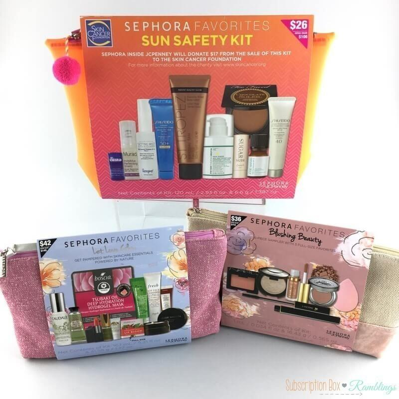 New JCPenney inside Sephora Favorites Kits + Giveaway! (CLOSED)