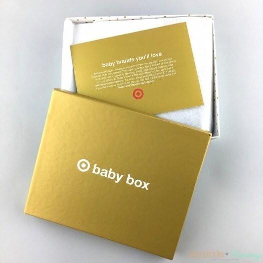 Target Baby Box Review April 2017 Subscription Box