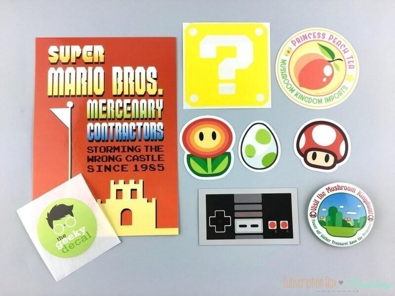 The Geeky Decal Review – April 2017