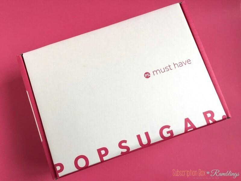 POPSUGAR Must Have Box August 2017 Giveaway! (CLOSED)