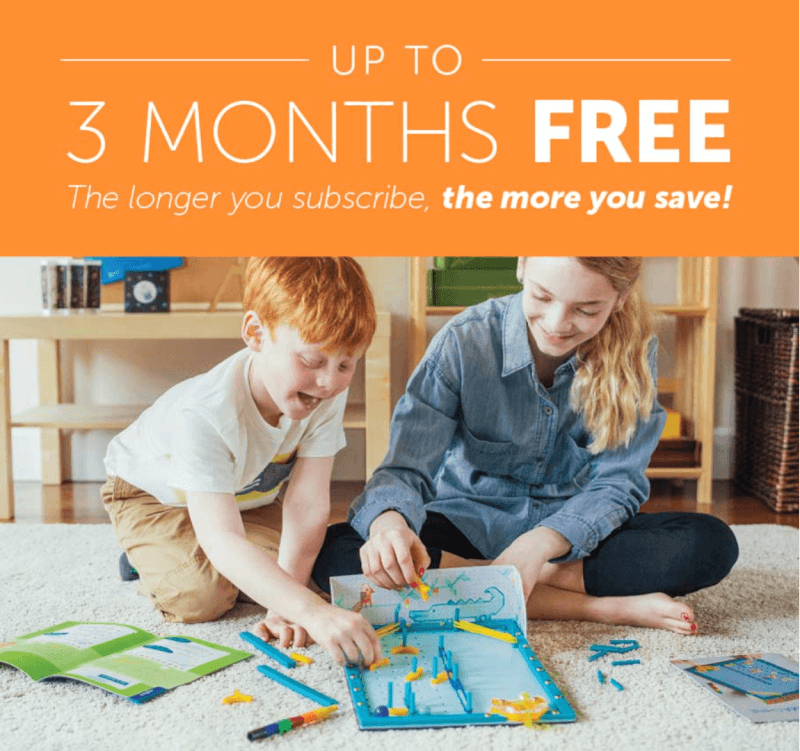 Kiwi Crate Coupon – Up To 3-Months FREE!