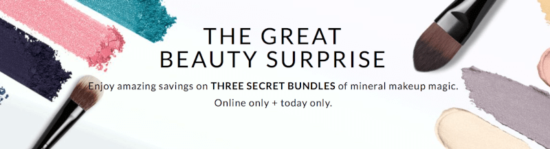 bareMinerals Beauty Surprise Boxes - On Sale Now (TODAY ONLY)! - Subscription Box Ramblings