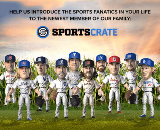 Sports Crate by Loot Crate MLB Edition Coupon Code - Save $10!