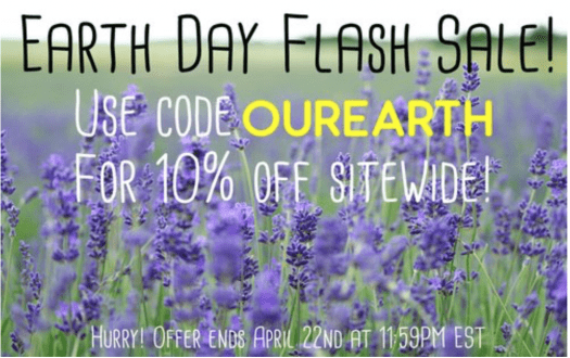Ecocentric Mom Earth Day Flash Sale + May 2017 Spoilers