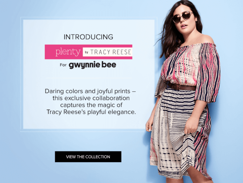 Gwynnie Bee + Tracy Reese – Get Your First Month FREE!