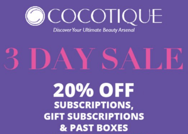 COCOTIQUE Coupon Code – Save 20% Off Subscriptions