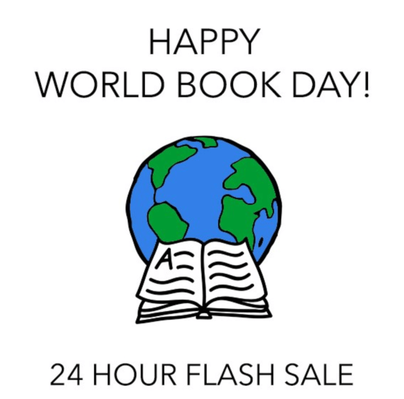 Quarterly Co. World Book Day Flash Sale