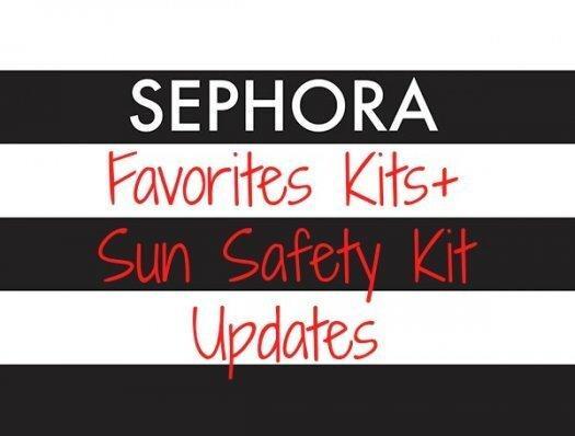Sephora Favorites – New Kit + Coupon Codes + Sun Safety Kit Reminder
