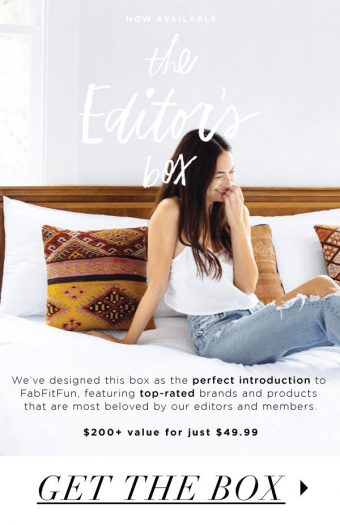 FabFitFun Editors Box #2 Coupon Code – Save 40%!