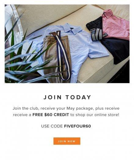 Five Four Club Coupon Code – Subscribe & Get $60 in Shop Credit!