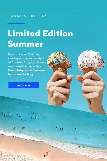 POPSUGAR Must Have Summer 2017 Limited Edition Box Spoiler #1