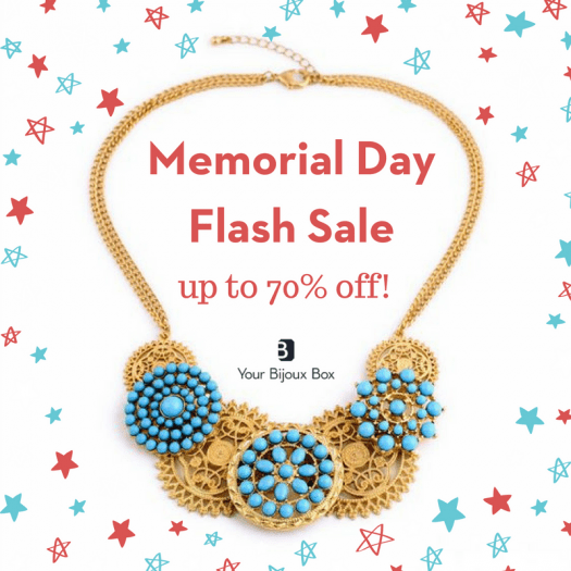 Your Bijoux Box Memorial Day Flash Sale – Save Up to 70% Off!