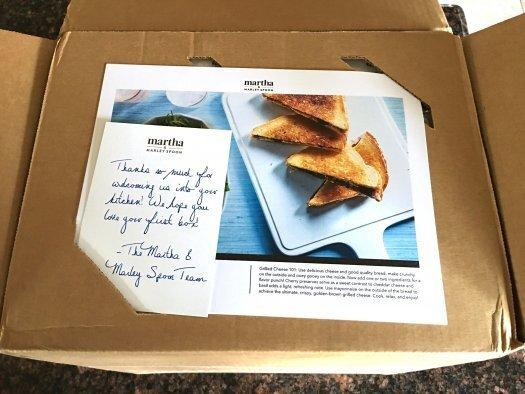 Martha & Marley Spoon Review - April 2017