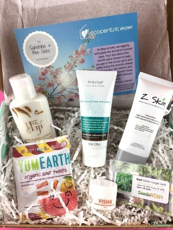 Ecocentric Mom Box Review – May 2017