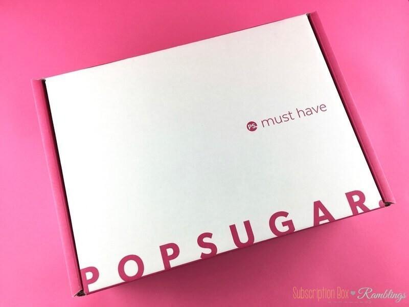 POPSUGAR Must Have Box Review + Coupon Code – May 2017