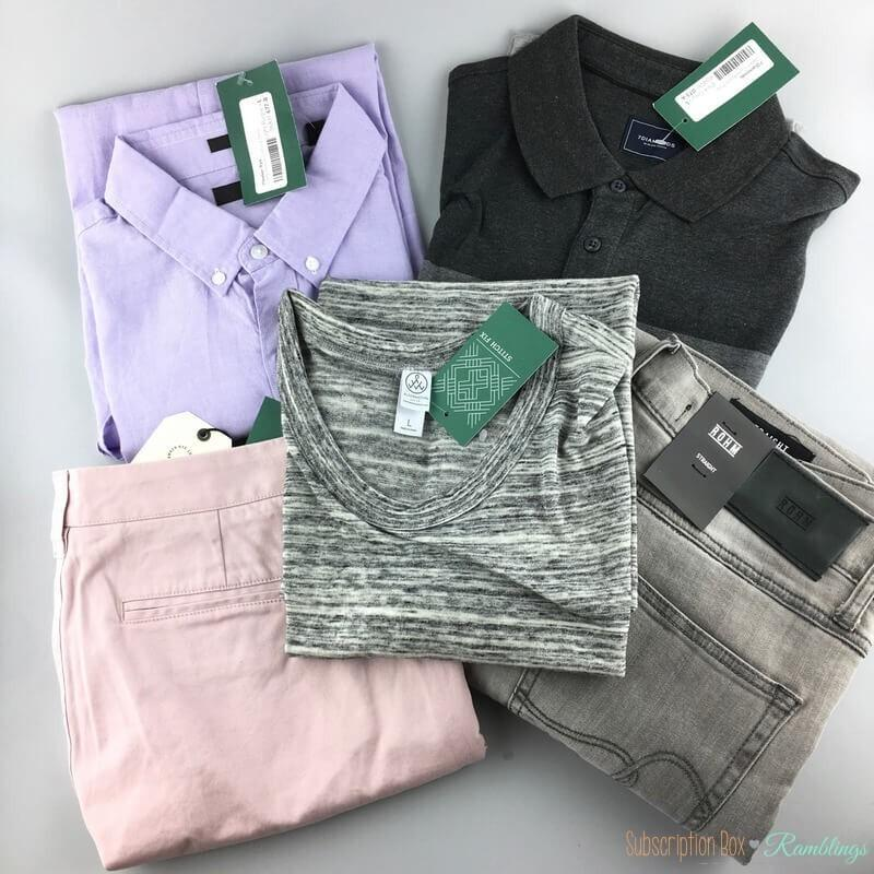 Stitch Fix Men Review – May 2017