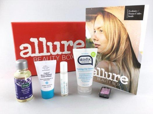 Allure Beauty Box Review – May 2017