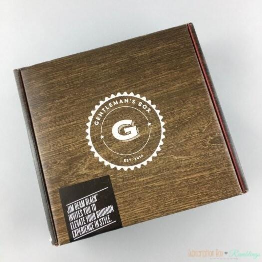 Gentleman's Box Review - May 2017