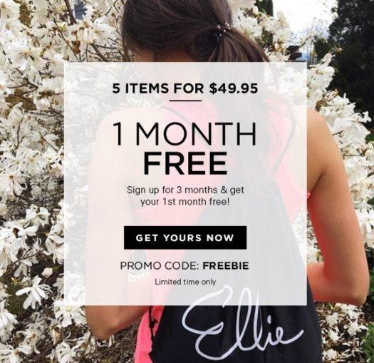 Ellie Coupon Code – First Month FREE with a 3-Month Subscription!