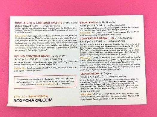 BOXYCHARM Review - May 2017