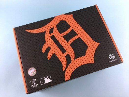 Sports Crate MLB Subscription Review (Detroit Tigers) – May 2017