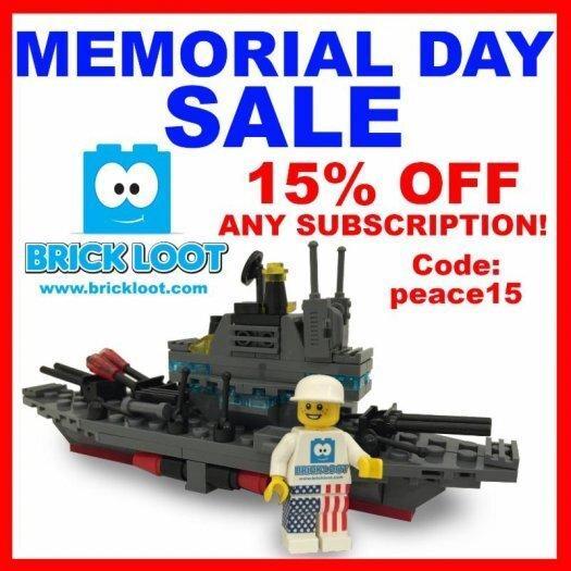 Brick Loot Memorial Day Sale + Spoilers!