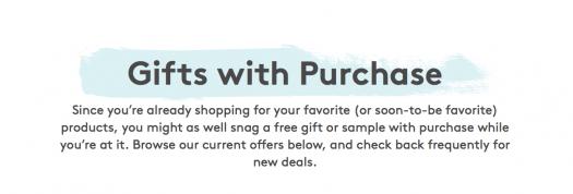 Birchbox Gift With Purchase Shop Restock!