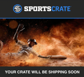 Sports Crate by Loot Crate MLB Edition **Shipping Update**