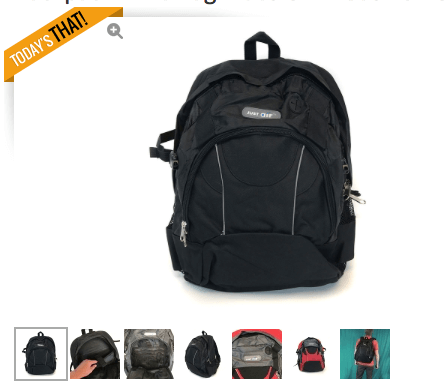 LIMITED EDITION Mystery Backpack of Mystery – Laptop / Tablet Air Backpack – On Sale Now!