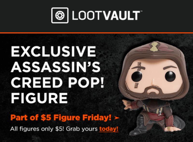 Loot Vault $5 Figure Flash Sale