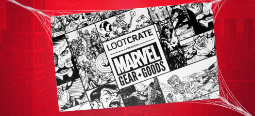 Loot Crate Marvel Gear + Goods July 2017 Theme Spoiler